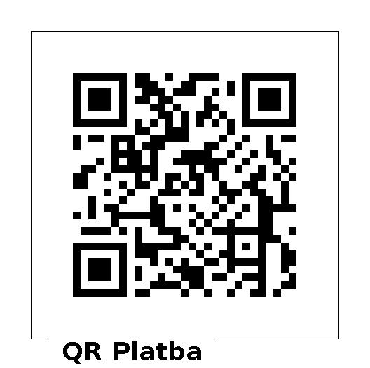 QR kód pro příspěvek 100,-Kč