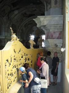 Prohlídka kláštera MB 061