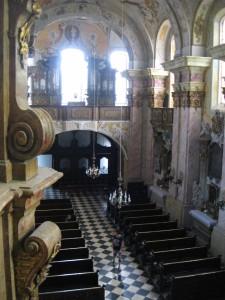 Prohlídka kláštera MB 067