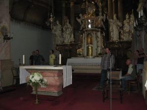 Prohlídka kláštera MB 070