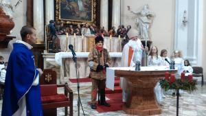 sv. Mikuláš v kostele